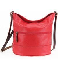 Paquetage Basic - Beuteltasche aus Leder - rot