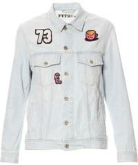 Pepe Jeans London LADETTE - Jeansjacke - jeansblau