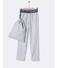 Cyrillus Pantalon de pyjama en coton - gris chine