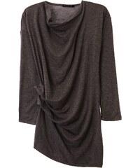 Sisley Young Robe drapée - gris foncé