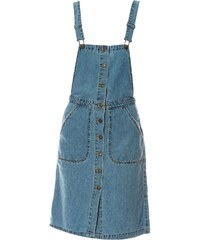 Vero Moda Liva - Latzhose - jeansblau