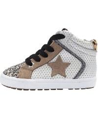 Next Sneaker high silver