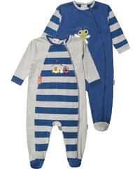 Gelati Kidswear 2 PACK Pyjama grau melange/blau