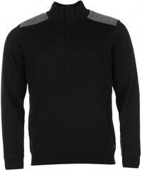 Ashworth Windbreaker Sweater Mens, black