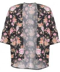 Lee Cooper Print Kimono Womens, roses