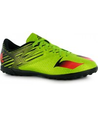 Adidas Messi 15.4 Astro Turf Childrens Trainers, semi sol/solred