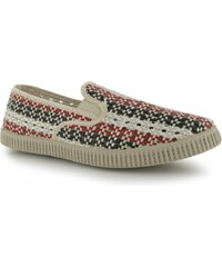 Airsoft Over Weav Slip On Shoes Mens, tri colour
