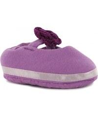 Pumpkin Patch Crochet Flower Booties Baby Girls, sweet lilac