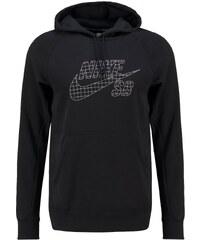 Nike SB Sweatshirt black/metallic silver