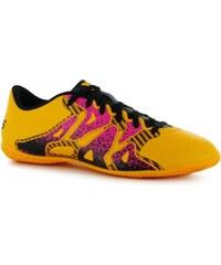 Adidas X 15.4 Mens Indoor Football Trainers, solar gold