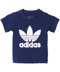 adidas Originals QUILTED TREFOIL Tshirt imprimé night sky