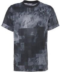 adidas Performance Tshirt imprimé grey/utility blue/utility black