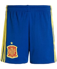 adidas Performance FEF SPAIN Short de sport collegiate royal/bright yellow