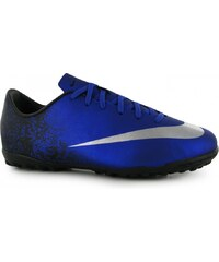 Nike Mercurial Victory CR7 Junior Astro Turf Trainers, royal/silver