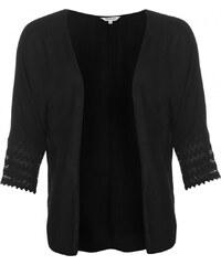 Soul Cal SoulCal Lace Kimono Ladies, black