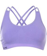 USA Pro Seamless Crop Sports Bra, purple hebe