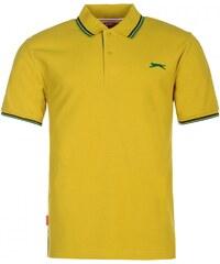 Slazenger Tipped Polo Shirt Mens, mustard