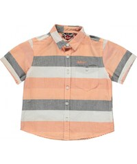 Lee Cooper Stripe Shirt Infant Boys, orange multi