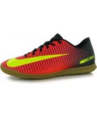 Nike Mercurial Vortex Mens IC Fotoball Trainers, crimson/volt