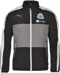 Puma Newcastle United Leisure Jacket Mens, black/white