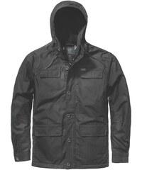 parka GLOBE - Goodstock Thermal Parka Jacket Black (BLK)