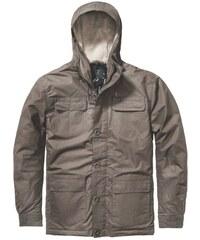 parka GLOBE - Goodstock Thermal Parka Jacket Dark Olive (DKOLV)