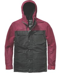 parka GLOBE - Goodstock Blocked Parka Jacket Black (BLK)