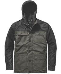 parka GLOBE - Goodstock Blocked Parka Jacket Dark Olive (DKOLV)