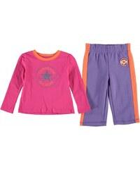 Converse 2 Piece Set Baby Girl, cosmos pink