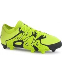 Adidas X 15.1 FG Junior Football Boots, solar yellow