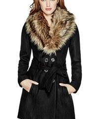 Guess Kabát Alina Double-Breasted Coat