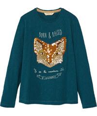 MANGO KIDS T-Shirt Coton Sequins