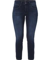 MAC Cropped Skinny Fit Jeans mit Kontrastnähten