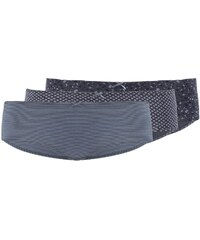 Marc O´Polo 3 PACK Panties bluegrey/dark blue