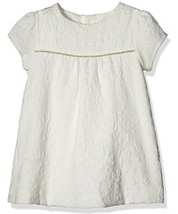 Mamas & Papas Baby-Mädchen Kleid and Textured Jacquard Dress Cream