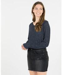 Pimkie Lurex-Pullover mit Materialmix