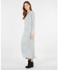 Longue robe pull gris, Femme, Taille L -PIMKIE- MODE FEMME