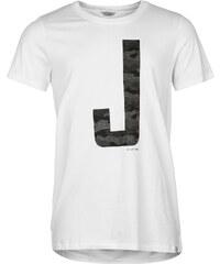 Triko Triko Jack and Jones Vintage Earnie Raglan T Shirt pánské White