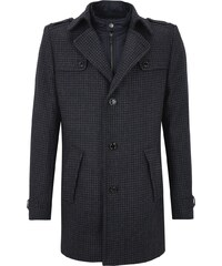 S.Oliver BLACK LABEL Slim Dogs Tooth Wollmantel