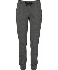 Marc O'Polo Geringelte Pyjamahose mit schmalem Bein