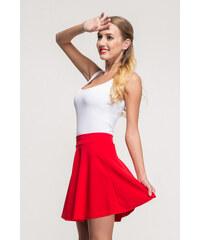 SHOPHYL Áčková sukně, červená