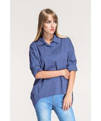 SHOPHYL Košile s límečkem, modrá