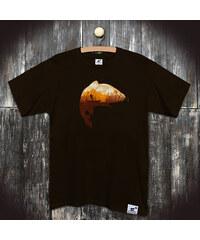 PANDEMIC Pánské tričko s potiskem Rybaření: Kapitální úlovek