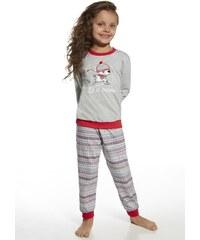 Dětské pyžamo Cornette 594/70 Snow ŠedáEA