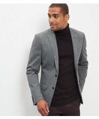 New Look Strukturierter grauer Blazer