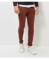 New Look Dunkelrote Skinny-Hose