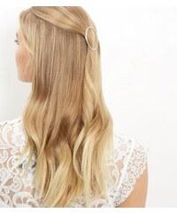 New Look Kreisförmige Haarspange mit feinen Strasssteinen