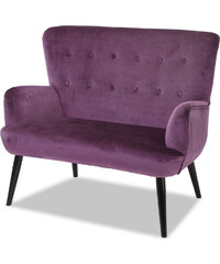 bpc living Banquette rembourrée Lisa violet maison - bonprix