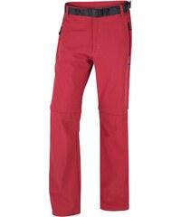 Pánské outdoorové kalhoty Pilon M New červené od HUSKY