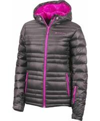 ALPINE PRO Dámská zimní péřová bunda Iskuta šedá